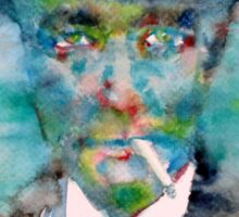 ROBERT OPPENHEIMER - watercolor portrait Sticker