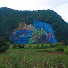 Cuba: Mountain Mural by Sue Ballyn