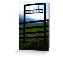 Kirkton Farm Greeting Card