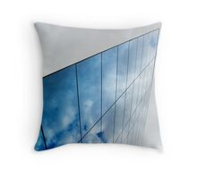 Glass Building, Murcia, Spain Throw Pillow