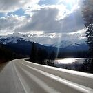 Yellowhead Highway by Andrew Dunwoody