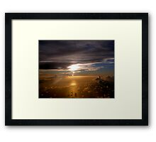 Caribbean Sunset Framed Print