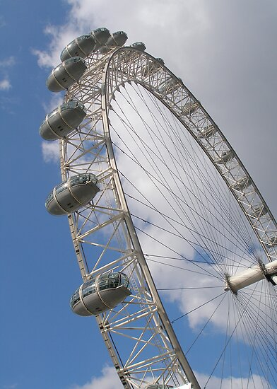 Millennium Wheel, London by Andrew Dunwoody