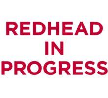 redhead v1 Sticker