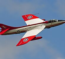 Hawker Hunter FGA.9 XE601 G-ETPS by Colin Smedley