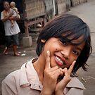 Village Girl 3 by Werner Padarin