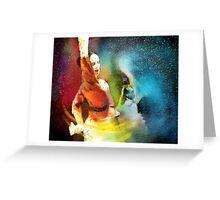 Flamencoscape 08 Greeting Card