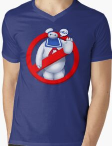 Mr. Baymaxmallow Mens V-Neck T-Shirt