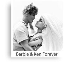 Barbie & Ken Forever Canvas Print