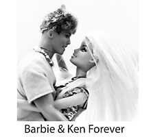 Barbie & Ken Forever Photographic Print