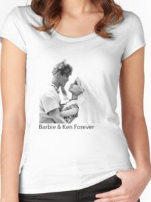 Barbie & Ken Forever Women's Fitted Scoop T-Shirt