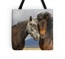 Beauties - Icelandic horses  Tote Bag