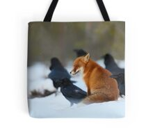 Moment with ravens Tote Bag