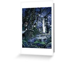 Bright Lands Portal Greeting Card