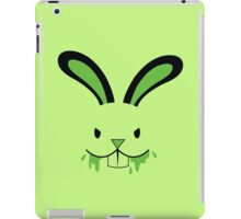 Rabid Rabbit Zombie with Green BLOOD! iPad Case/Skin