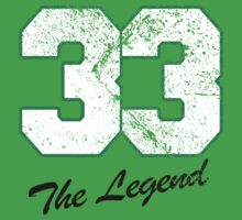 Celtics Numbers - The Legend no. 33 by JohnLucke