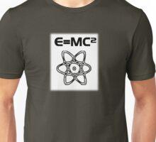E=MC Squared Theory of Relativity Albert Einstein Unisex T-Shirt