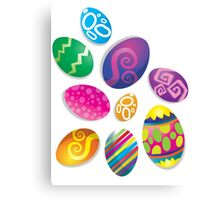 Many Easter eggs  Canvas Print