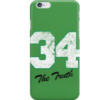 Celtics Numbers - The Truth no. 34 iPhone Case/Skin