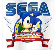 Sonic Vintage Poster