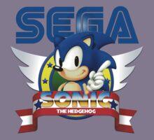 Sonic Vintage Kids Clothes