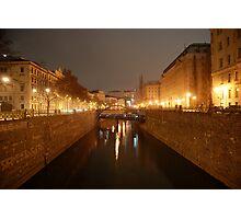 Wien bei Nacht / Vienna@Night Photographic Print