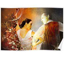 Flamencoscape 10 Poster