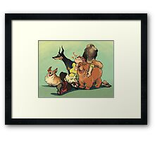 Dogs Dogs Dogs Framed Print