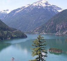 Diablo Lake by Valerie