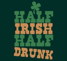 Half IRISH half DRUNK by jazzydevil