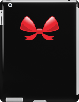Cute little red BOW by jazzydevil