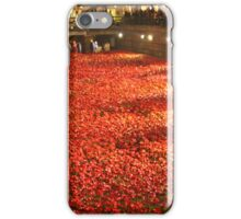 Poppies at The Tower 1 iPhone Case/Skin