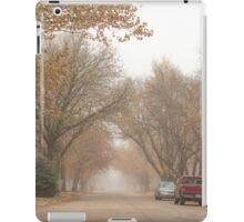 Small Town Autumn iPad Case/Skin