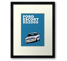 Fortitude's Ford Escort Mark 1 RS2000 Poster Framed Print