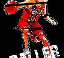 "Rukawa ""the Baller"" by AlexKramer"