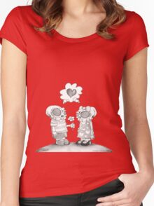 Young Love Women's Fitted Scoop T-Shirt