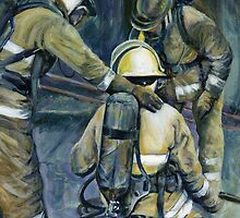 Checking on a Colleague by Vicky Stonebridge