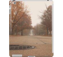 Foggy Autumn Quiet iPad Case/Skin