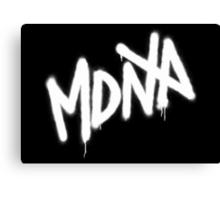 MDNA Tag (White) Canvas Print