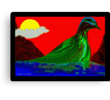 The Lagoon Canvas Print