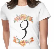 Autumn Roses - 3 Womens Fitted T-Shirt