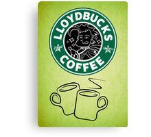 LloydBucks! Hot? (Iced??) Coffee! Canvas Print
