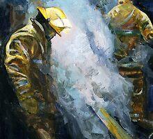 Damping Down by Vicky Stonebridge
