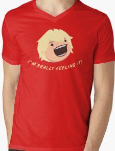 I'm Feeling It! Mens V-Neck T-Shirt