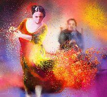 Flamencoscape 11 by Goodaboom