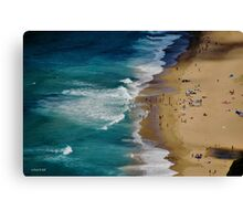 AUSTRALIAN BEACH SUMMER Canvas Print