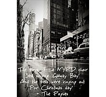Fairytale of New York Photographic Print