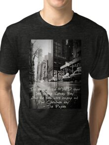 Fairytale of New York Tri-blend T-Shirt