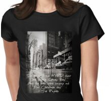 Fairytale of New York Womens Fitted T-Shirt