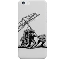 Raising the Line iPhone Case/Skin